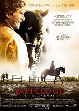 Jappeloup – Eine Legende – deutsches Filmplakat – Film-Poster Kino-Plakat deutsch