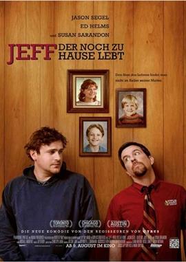 Jeff, der noch zu Hause lebt – deutsches Filmplakat – Film-Poster Kino-Plakat deutsch