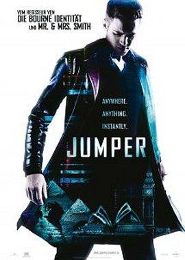 Jumper – deutsches Filmplakat – Film-Poster Kino-Plakat deutsch