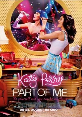 Katy Perry – Part of Me – deutsches Filmplakat – Film-Poster Kino-Plakat deutsch