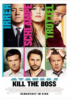 Kill The Boss – deutsches Filmplakat – Film-Poster Kino-Plakat deutsch