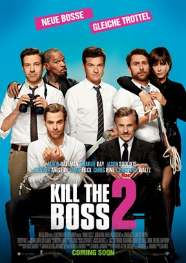 Kill The Boss 2 – deutsches Filmplakat – Film-Poster Kino-Plakat deutsch
