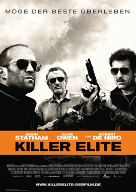 Killer Elite – deutsches Filmplakat – Film-Poster Kino-Plakat deutsch
