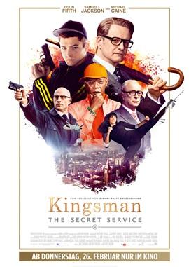 Kingsman – The Secret Service – deutsches Filmplakat – Film-Poster Kino-Plakat deutsch