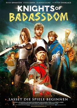 Knights of Badassdom – deutsches Filmplakat – Film-Poster Kino-Plakat deutsch