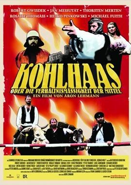 Kohlhaas oder die Verhältnismäßigkeit der Mittel – deutsches Filmplakat – Film-Poster Kino-Plakat deutsch