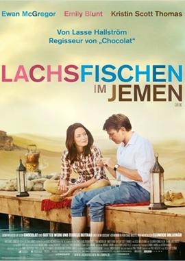 Lachsfischen im Jemen – deutsches Filmplakat – Film-Poster Kino-Plakat deutsch
