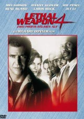 Lethal Weapon 4 – Zwei Profis räumen auf – deutsches Filmplakat – Film-Poster Kino-Plakat deutsch