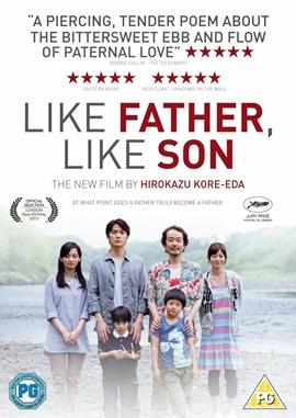 Like Father, Like Son – deutsches Filmplakat – Film-Poster Kino-Plakat deutsch