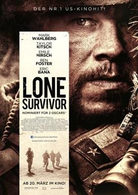 Lone Survivor – deutsches Filmplakat – Film-Poster Kino-Plakat deutsch
