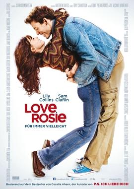 Love, Rosie – Für immer vielleicht – deutsches Filmplakat – Film-Poster Kino-Plakat deutsch
