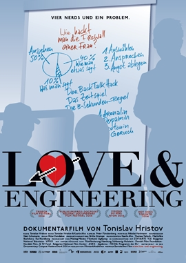 Love & Engineering – deutsches Filmplakat – Film-Poster Kino-Plakat deutsch