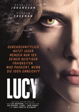 Lucy – deutsches Filmplakat – Film-Poster Kino-Plakat deutsch