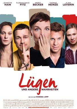 Lügen und andere Wahrheiten – deutsches Filmplakat – Film-Poster Kino-Plakat deutsch