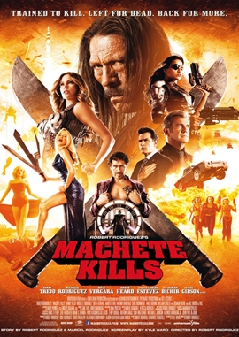 Machete 2 – Machete Kills – deutsches Filmplakat – Film-Poster Kino-Plakat deutsch