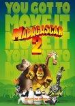 Madagascar 2 – deutsches Filmplakat – Film-Poster Kino-Plakat deutsch