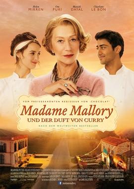 Madame Mallory und der Duft von Curry – deutsches Filmplakat – Film-Poster Kino-Plakat deutsch