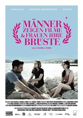 Männer zeigen Filme und Frauen ihre Brüste – deutsches Filmplakat – Film-Poster Kino-Plakat deutsch