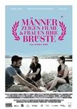Männer zeigen Filme und Frauen ihre Brüste - deutsches Filmplakat - Film-Poster Kino-Plakat deutsch