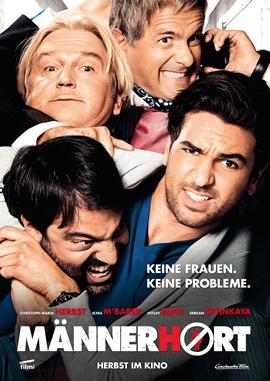 Männerhort – deutsches Filmplakat – Film-Poster Kino-Plakat deutsch