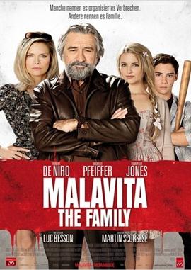 Malavita – The Family – deutsches Filmplakat – Film-Poster Kino-Plakat deutsch
