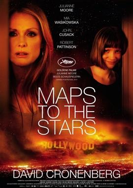 Maps to the Stars – deutsches Filmplakat – Film-Poster Kino-Plakat deutsch
