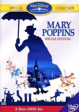 Mary Poppins – deutsches Filmplakat – Film-Poster Kino-Plakat deutsch