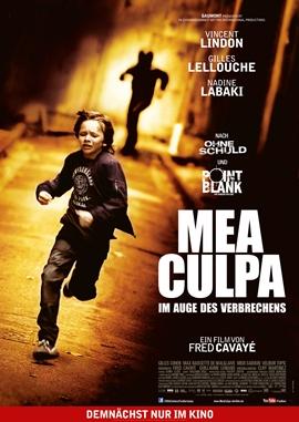 Mea Culpa – Im Auge des Verbrechens – deutsches Filmplakat – Film-Poster Kino-Plakat deutsch