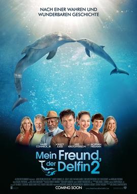 Mein Freund der Delfin 2 – deutsches Filmplakat – Film-Poster Kino-Plakat deutsch