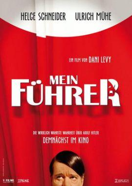 Mein Führer – Die wirklich wahrste Wahrheit über Adolf Hitler – deutsches Filmplakat – Film-Poster Kino-Plakat deutsch