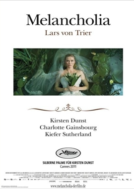 Melancholia – deutsches Filmplakat – Film-Poster Kino-Plakat deutsch
