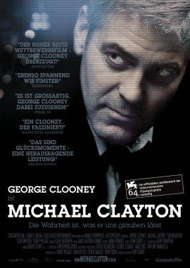 Michael Clayton – George Clooney, Tom Wilkinson, Tilda Swinton, Sydney Pollack, Michael O'Keefe, Danielle Skraastad – Tony Gilroy – Filme, Kino, DVDs Kinofilm Thriller – Charts & Bestenlisten