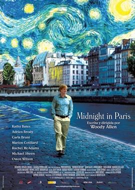 Midnight in Paris – deutsches Filmplakat – Film-Poster Kino-Plakat deutsch