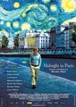 Midnight in Paris – deutsches Filmplakat – Film-Poster Kino-Plakat deutsch