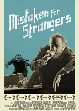 Mistaken for Strangers – deutsches Filmplakat – Film-Poster Kino-Plakat deutsch