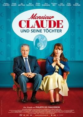 Monsieur Claude und seine Töchter – deutsches Filmplakat – Film-Poster Kino-Plakat deutsch