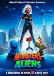 Monsters vs. Aliens - Rob Letterman, Conrad Vernon - DreamWorks