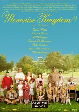 Moonrise Kingdom – deutsches Filmplakat – Film-Poster Kino-Plakat deutsch