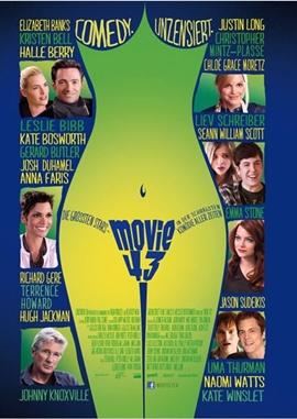 Movie 43 – deutsches Filmplakat – Film-Poster Kino-Plakat deutsch