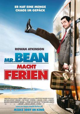 Mr. Bean macht Ferien – deutsches Filmplakat – Film-Poster Kino-Plakat deutsch
