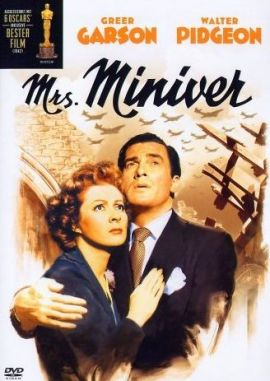 Mrs. Miniver – deutsches Filmplakat – Film-Poster Kino-Plakat deutsch