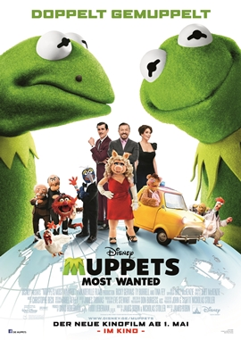 Muppets Most Wanted – deutsches Filmplakat – Film-Poster Kino-Plakat deutsch
