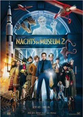 Nachts im Museum 2 – deutsches Filmplakat – Film-Poster Kino-Plakat deutsch