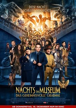 Nachts im Museum 3 – Das geheimnisvolle Grabmal – deutsches Filmplakat – Film-Poster Kino-Plakat deutsch