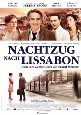 Nachtzug nach Lissabon – deutsches Filmplakat – Film-Poster Kino-Plakat deutsch