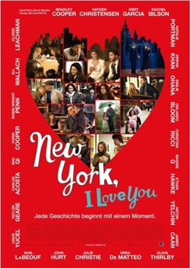 New York, I Love You – deutsches Filmplakat – Film-Poster Kino-Plakat deutsch