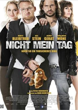 Nicht mein Tag – deutsches Filmplakat – Film-Poster Kino-Plakat deutsch