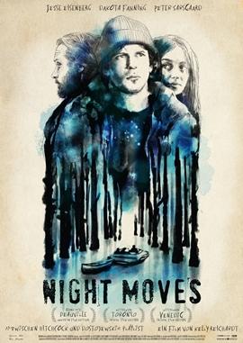 Night Moves – deutsches Filmplakat – Film-Poster Kino-Plakat deutsch