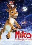 Niko – Ein Rentier hebt ab – deutsches Filmplakat – Film-Poster Kino-Plakat deutsch