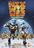 Nix wie Weg vom Planeten Erde - deutsches Filmplakat - Film-Poster Kino-Plakat deutsch